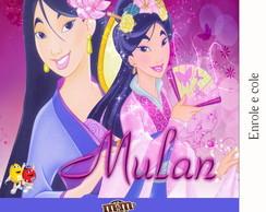 R�tulo Para M&m Mulan