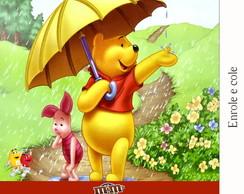 R�tulo Para M&m Pooh