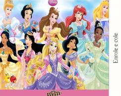R�tulo Para M&m Princesas