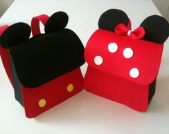 Mochila Mickey e Minnie