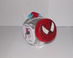 Mini baleiro do Homem-aranha