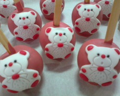 Ma�� Do Amor - Ursinha Vermelha e Branca
