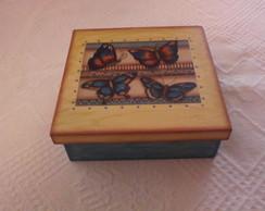 Caixa multi uso borboletas