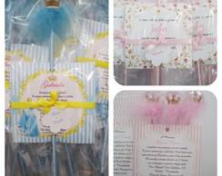 Convite Princesa cinderela