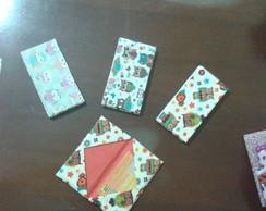 Porta Cart�es Corujas