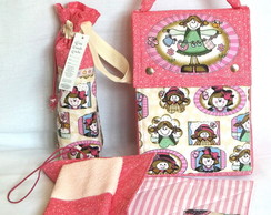Kit 3-Lunch Bag T�rmica Maior c/ 4 Pe�as
