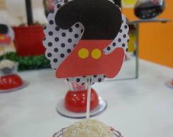 Topper para doces - Mickey Futebol