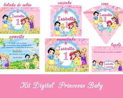 Festa Digital Princesas Baby