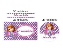 Kit Etiq Prova  A  �gua Princesa Sofia