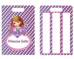 Tag De Mochila Princesa Sofia