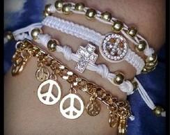 Kit paz e amor