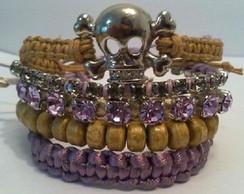 Mix de pulseiras Lovely