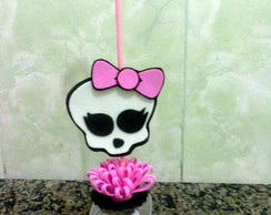 Potinho com pega bal�o monster high