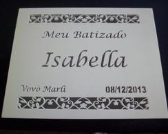 CAIXA DE BATIZADO DA ISABELLA 20x15x10