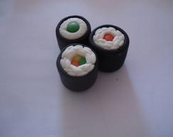 Sushi de Biscuit - Chaveiro - Decorativo