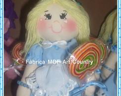 Boneca Alice centro de mesa
