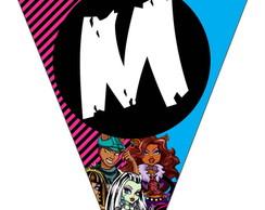 Bandeirola - Monster High