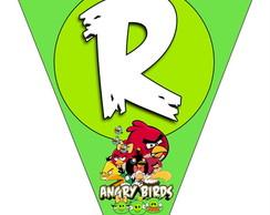 Bandeirola - Angry Birds