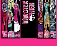 R�tulo Para Bisnaga - Monster High