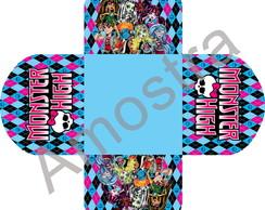 Forminha Personalizada - Monster High