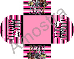 Forminha Personalizada - Monster High
