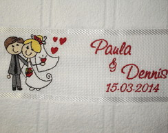 Lembran�a Padrinhos Casamento Mod11