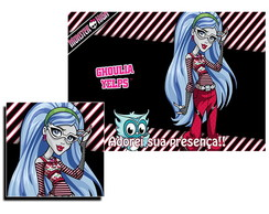 Jogo Americano Monster High