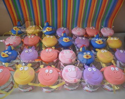 Lembran�as backyardigans em biscuit