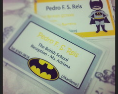 Kit Escolar - Batman