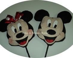 Rosto Minnie e Mickey
