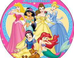 Latinha Princesas