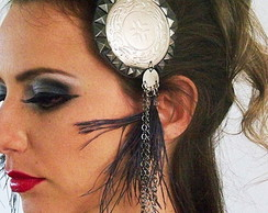 Par de Headdress para Tribal Fusion