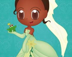 R�tulo Para Bisnaga - Princesa e o Sapo