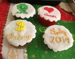 Cup Cakes de Ano Novo