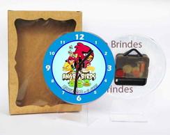 Angry Birds Rel�gio Centro De Mesa