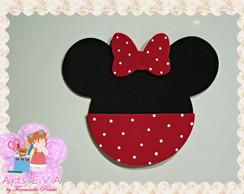 Porta Convite Minnie
