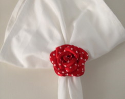 Porta Guardanapo - Po� vermelho e branco