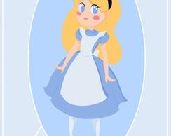 R�tulo Para Bisnaga - Alice