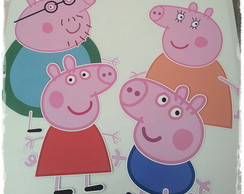 Personagens de parede Peppa Pig