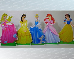 Kit Display de Mesa Princesas Pvc