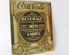 Placa Vintage Decorativa