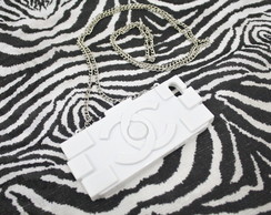 Capa para Iphone5 Clutch Lego Chanel