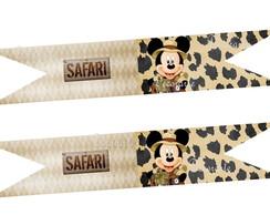 Bandeirinha Sandu�che/ Doces Mickey