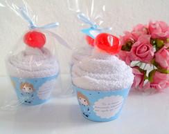 Cupcake de Toalha Pequeno Pr�ncipe