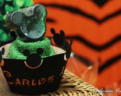 Cupcake De Toalha c/ sabonete do Mickey.