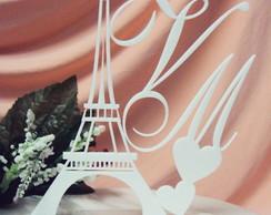 Topo de Bolo Torre Eiffel