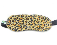 Mascara para dormir animal print on�a