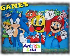 Painel Games Jogos eletronicos