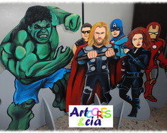Vingadores Avengers Painel e displays