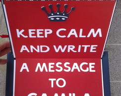 Caderno KEEP CALM